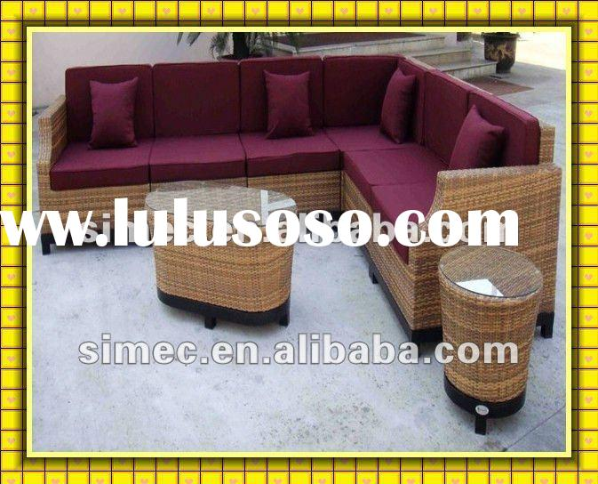 2012 new design wicker rattan living room furniture