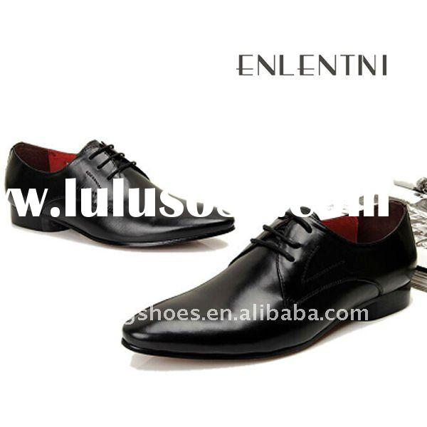 2012 new style men dress leather sole shoes