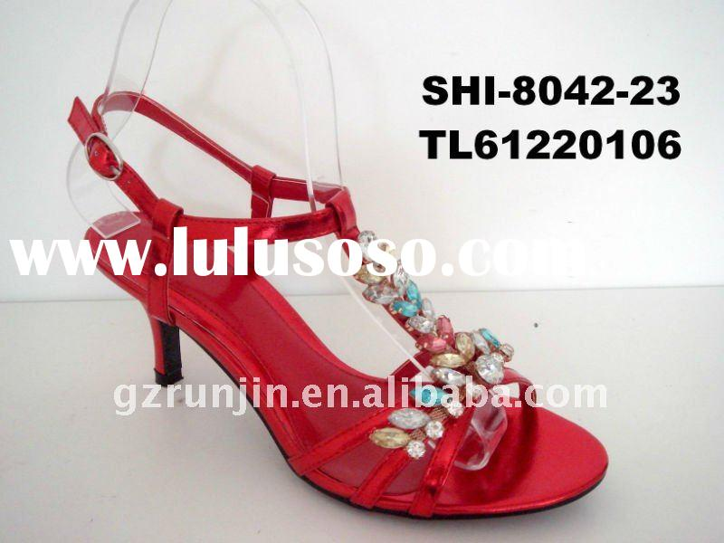 2012 summer ladies fashion buckle shoes woman