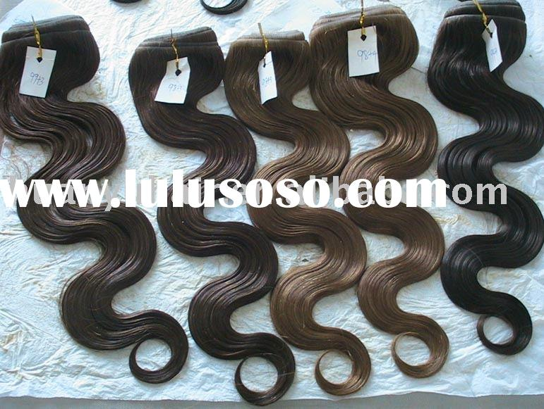 "20""REMY BODY WAVE EASY LOOP RING HAIR EXTENSION"