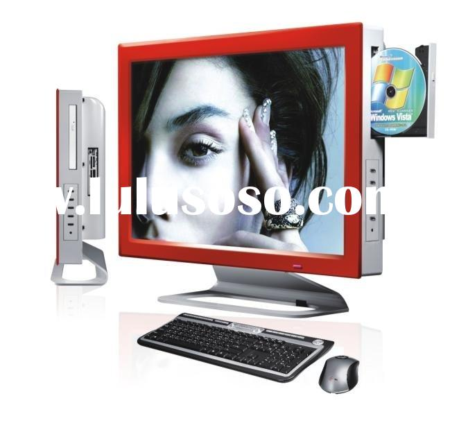 22inch all in one lcd pc&tv ,lcd computer all in one with tv