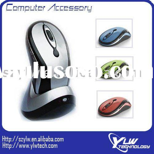 27Mhz Wireless Mouse With Docking Station--Rechargeable Wireless Mouse