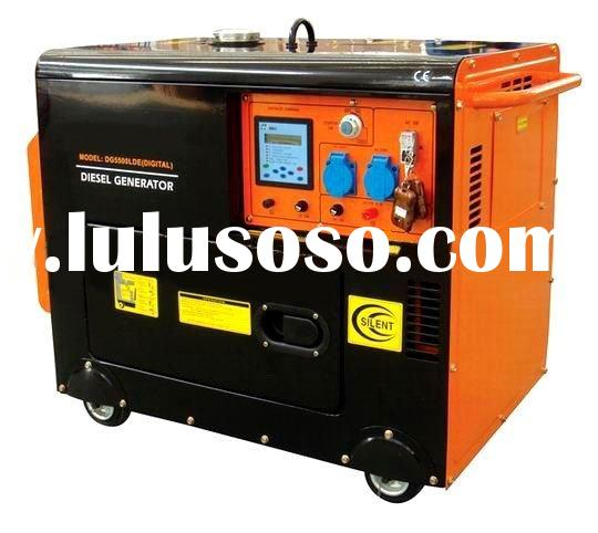 2KVA-6KVA yanmar type Air-cooled engine power electric silent diesel generator