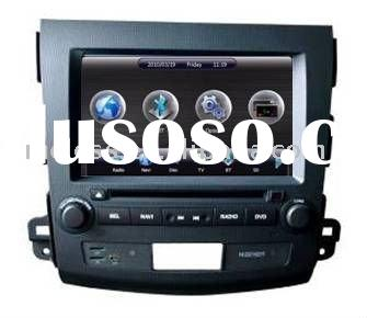 2 Din Car DVD Player for Mitsubishi Outlander with built-in GPS, Dual Zone,Digital Panel, RDS,Steeri
