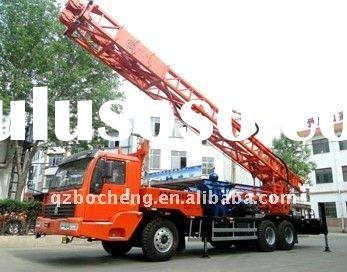 300m Directional and Reverse Circulation Truck mounted Water Well drilling rig