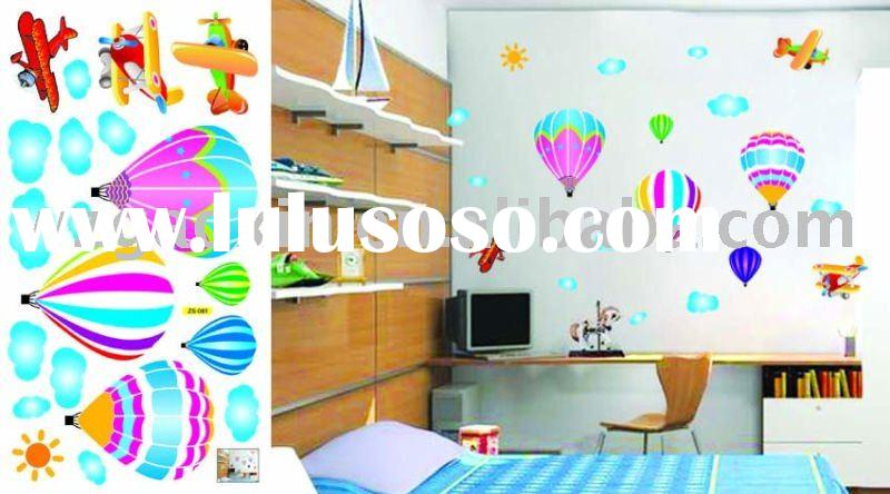 34*68cm fashion room decoration wall sticker for children DIY