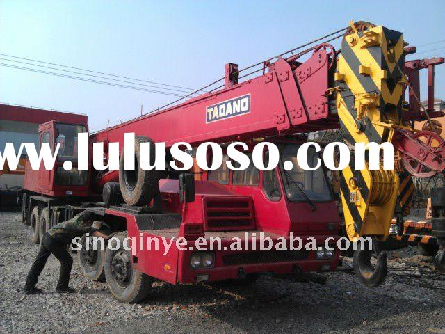 35t used truck crane TL350E 35tons hydraulic crane for sale sales 35ton japanese crane
