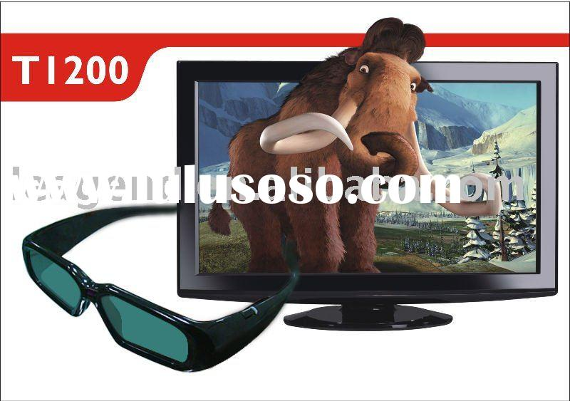 3D active shutter glasses for 3D TV(Rechargeable)
