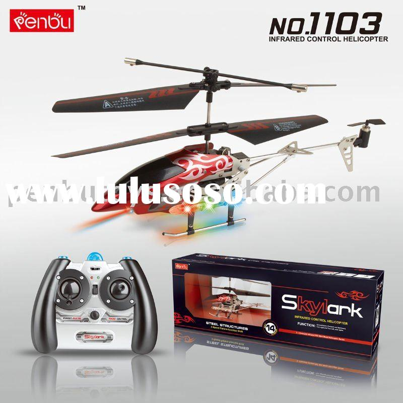 3.5 Channel rc Helicopter Radio Control Toys (PB1103)