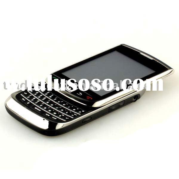 3.5-inch QVGA LCD screen Quad-band Cell Phone Dual SIM TV Function QWERTY keyboard - 2 Cameras stand