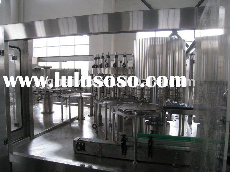 3-in-1 PET bottle aseptic drinking water production line