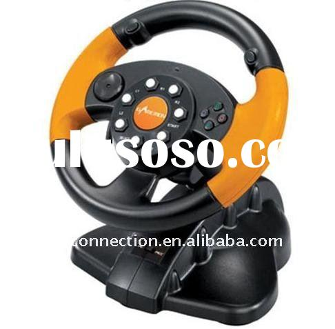 3 in 1 steering wheel for video game