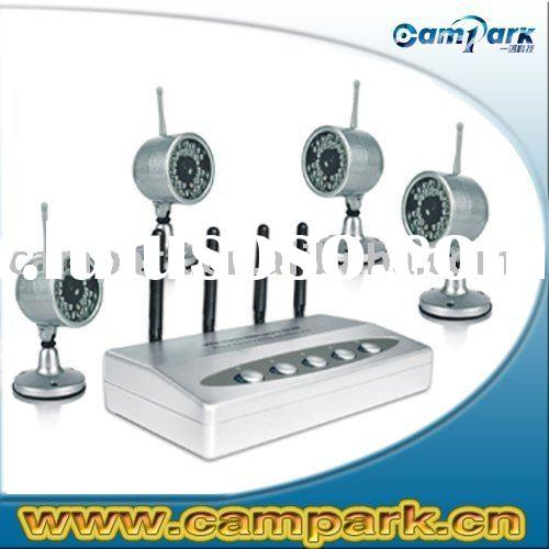 4-Wireless CCTV USB Network Surveillance Camera Kit
