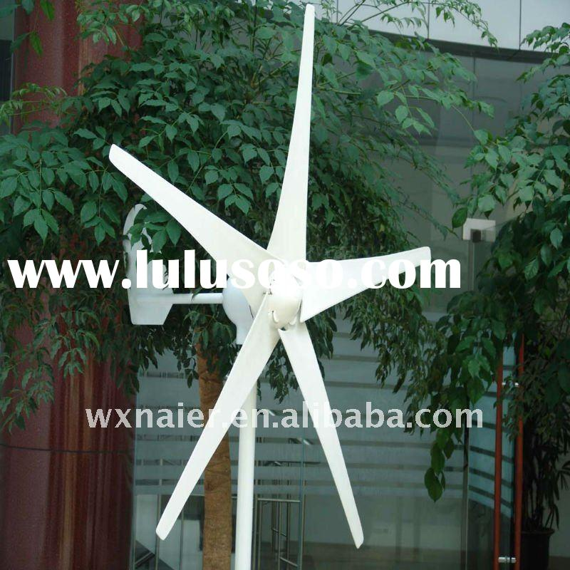 500w 5 blades wind turbine generator wind alternator windmill generator