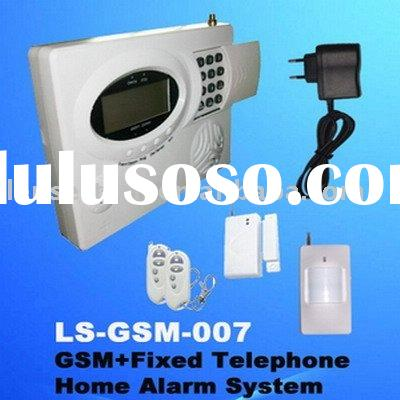 51pcs Sensors GSM/Telephone auto switch Home Wireless Alarm System(LS-GSM-007)