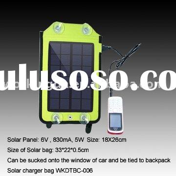 5W Solar Backpack Charger for Mobile Phone