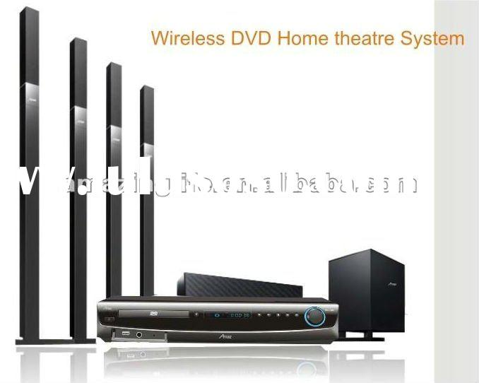 5.1 3D blue-ray wireless home theater system 3D surround hi-fi home theater speaker dvd home theater