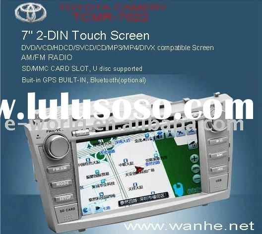 6.5 inch touch screen car dvd player & gps navigation Special for Toyota Corolla