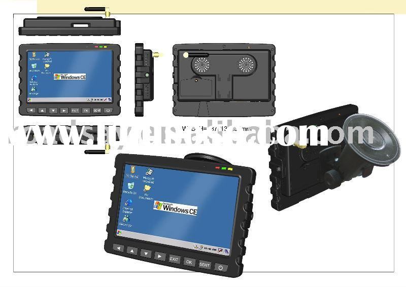 7' LCD GPS navigator, with GSM GPRS vehicle navigation,tracking and taxi dispatching Mobile