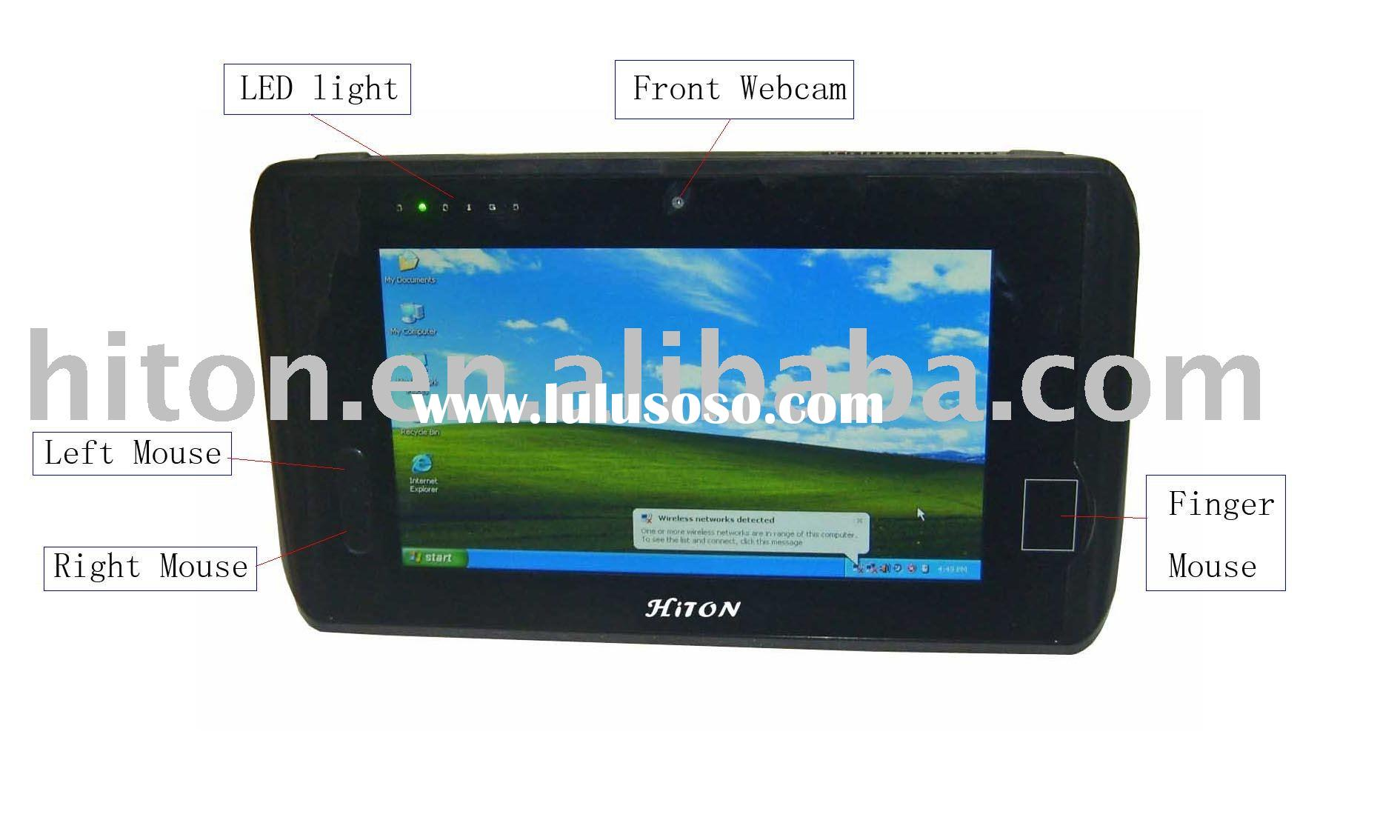 "7"" built-in HSDPA 3.5G / 3G module built-in GPS Receiver windows xp / Linux tablet pc PDA UMPC"