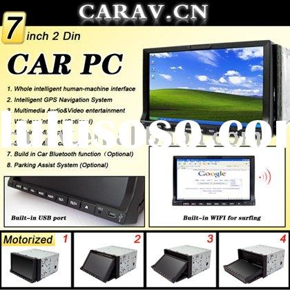 7 inch DOUBLE DIN CAR PC with WIFI/3G/GPS Navigation