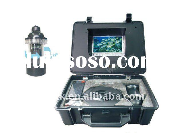 7 inch HD TFT LCD color monitor 360 horizontal rotate underwater camera