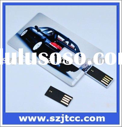 8GB Credit card shape usb storage device