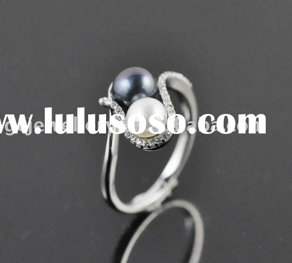 925 Sterling silver Mother of pearl rings GPSR-9122
