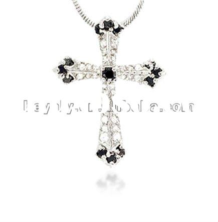 925 christian jewelry sterling silver cross pendant