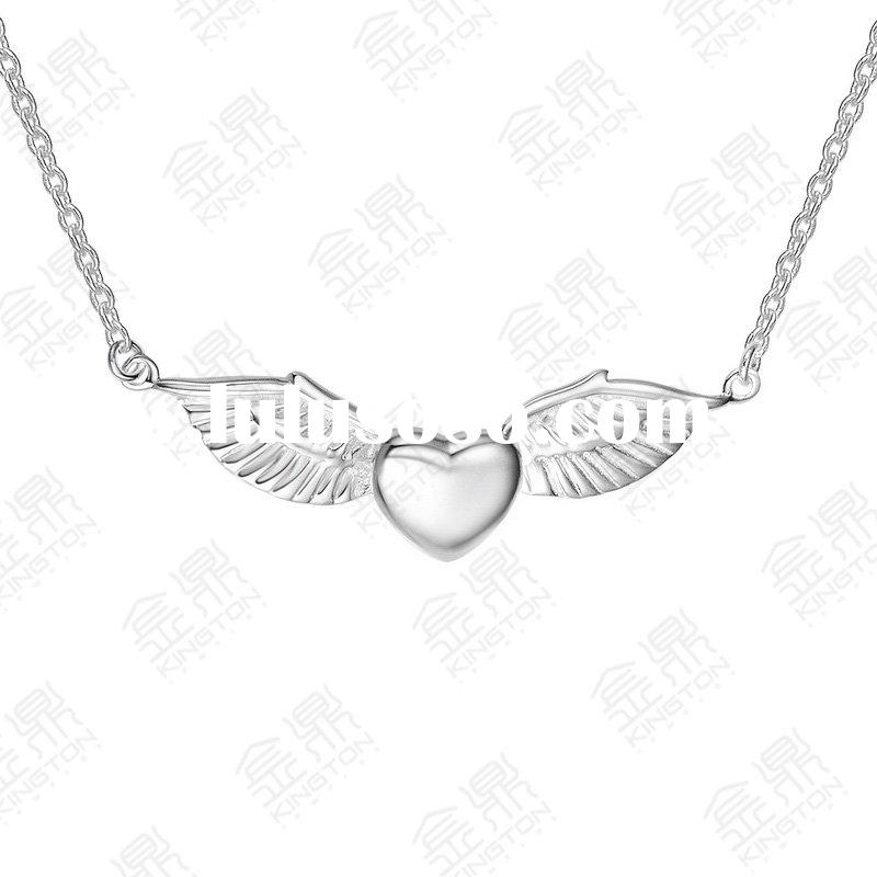 925 sterling silver necklace with Angel styles, female jewelry