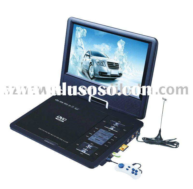 9.5 inches Portable DVD Player with Game