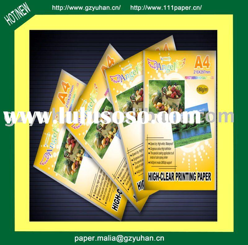 A4 210gr High glossy inkjet photo paper ( Angel )