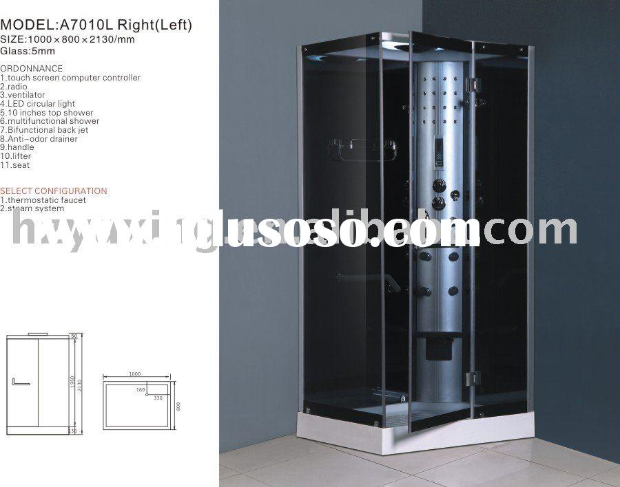 A7010LHydroMassage steam shower cabin,bathroom,sanitary ware,abs acrylic shower,luxury steam room, c