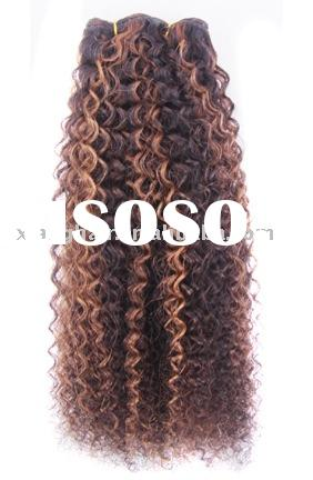 Kinky Afro Human Hair Extensions 102