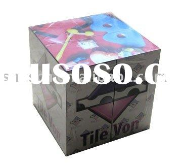Advertising cube/folding magic cube/foldable magic block