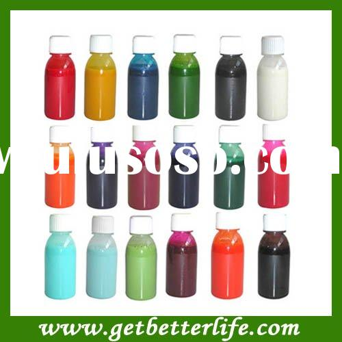Airbrush Tattoo ink, temporary Airbrush ink 100ML/bottle 18 colors