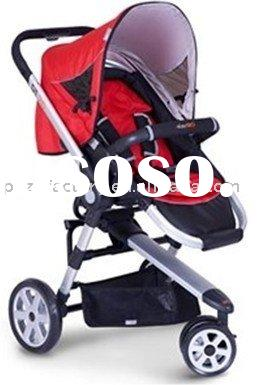 Aluminiu baby stroller, pushchair, jogger, travel system with CE