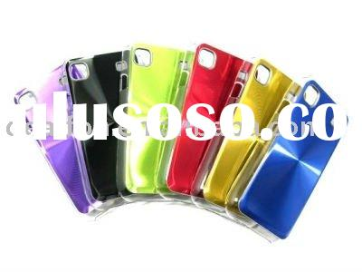 Aluminum hard case cover for Samsung i9000 galaxy s plastic crystal case