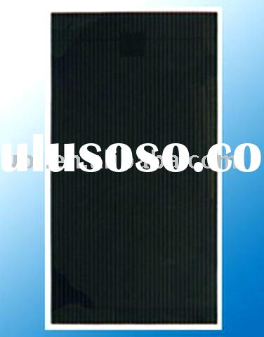 Amorphous Silicon Solar Panel with Double-Junction