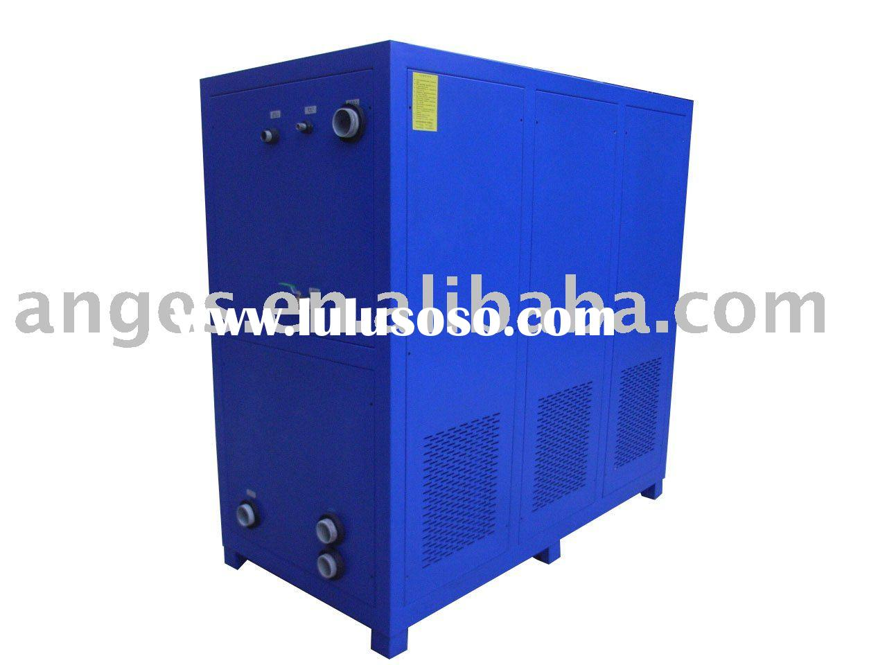 water cooled industrial chiller water cooled industrial chiller  #1E3CAD