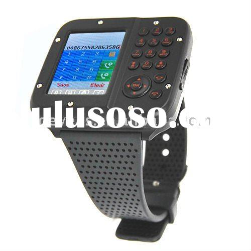 Aoke10 Dual sim dual standby watch phone with Quad band, 1.3M Camera