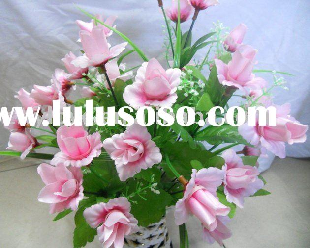 Artificial flower/artificial plant--latest spring artificial dancing lady flower--pink