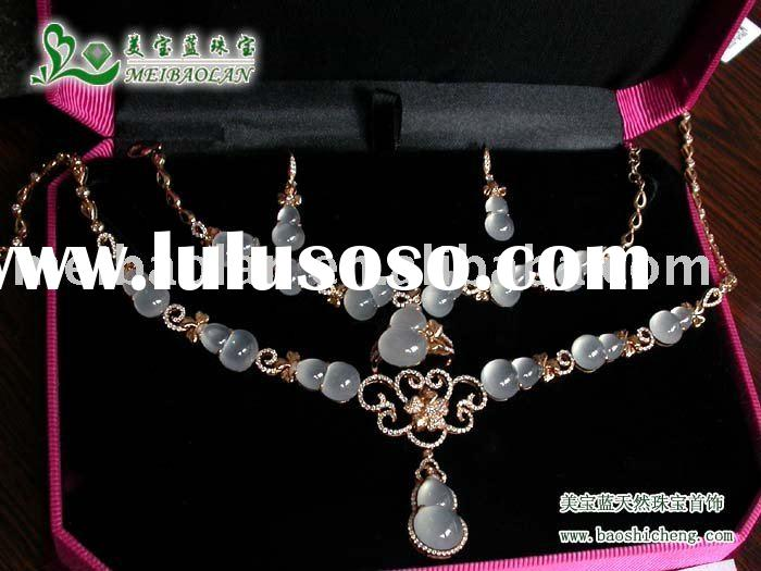Au750 jewelry sets, ring, earrings,necklace,bracelet, Fashion disign,high quality with competitve pr