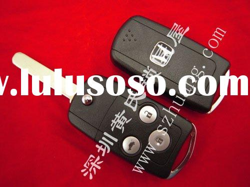 Auto Key shell for Honda Accord 3 Buttons Folding Remote Keys Casing