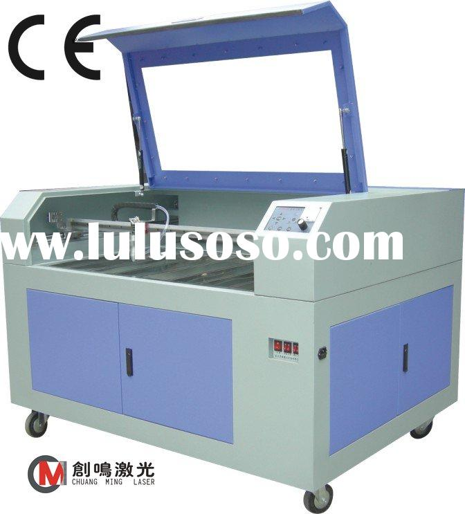 Auto high precision acrylic/leather/cloth/wood cutting machine/automatic leather cutter/laser scribi