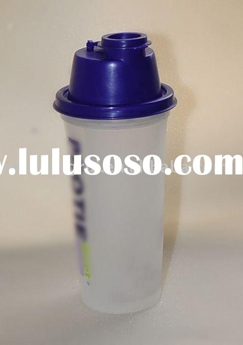 BPA free plastic nutrition protein powder shaker bottle