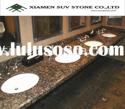 Baltic Brown Granite Bathroom Countertop