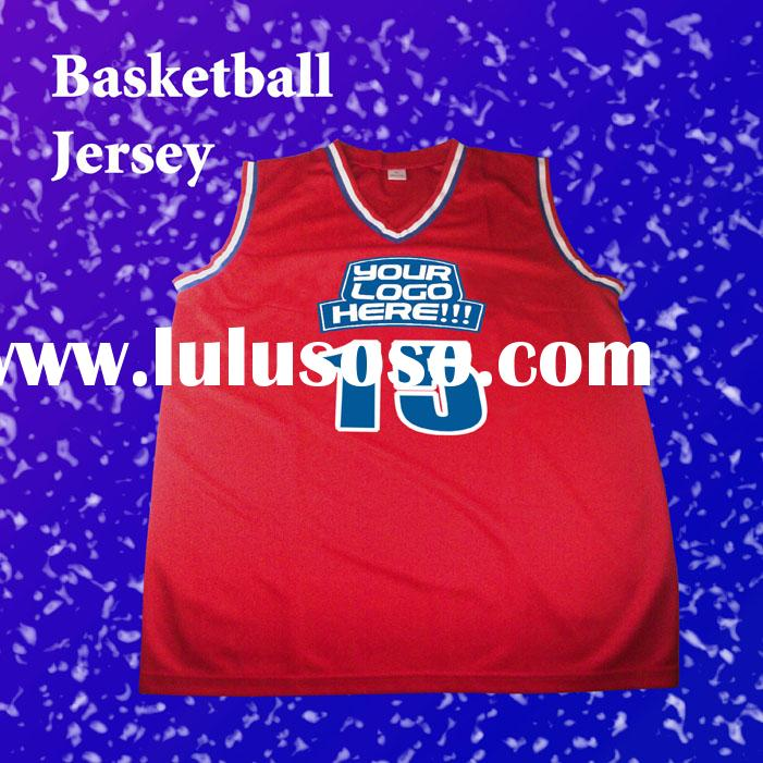 Basketball Jersey for Promotional