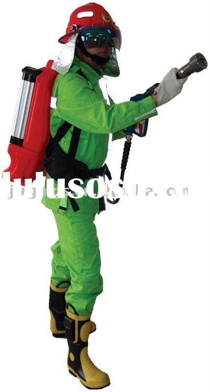 Battery Powered Backpack Water Mist Fire Fighting System