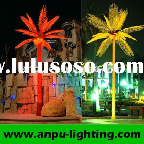 Beautiful High quality LED Indoor Artificial Palm Trees